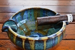 SINGLE CIGAR ASHTRAY LARGE
