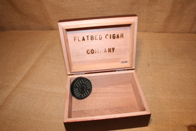 15 Cigar Cherry Travel Humidor
